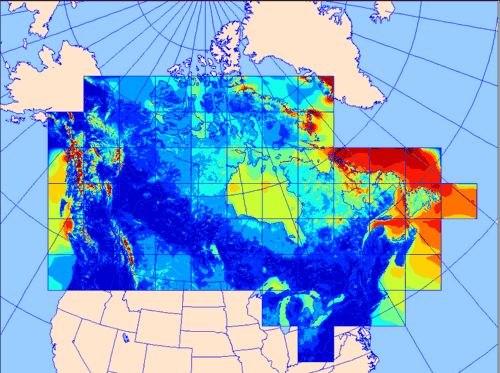 Global Map  Canadian Wind Energy Atlas  Environment and Climate